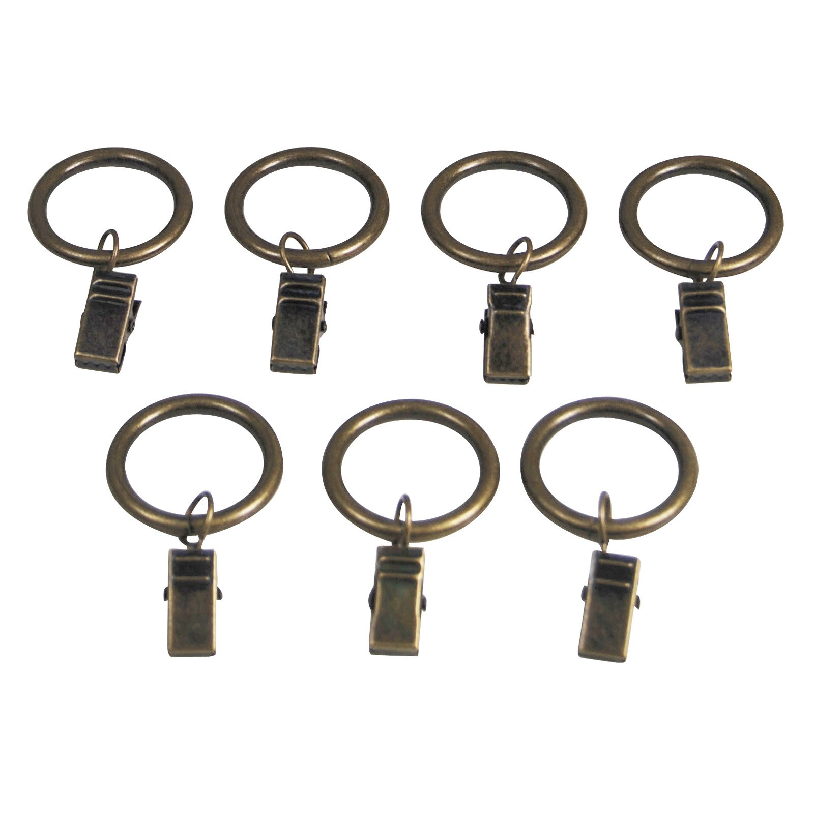 Versailles 1 in. Clip Ring - 7 Piece