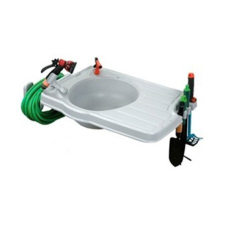 Monticello Monticello Large Potting Sink with Mounting (Monticello Platinum Trim Kit)