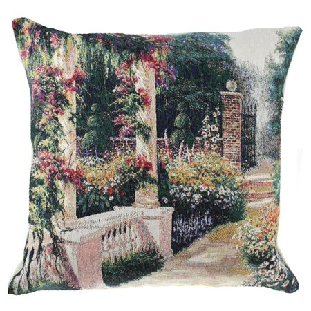 Open Gate Decorative Pillow Cushion Cover - A - H 16 x W 16 - image 1 de 1