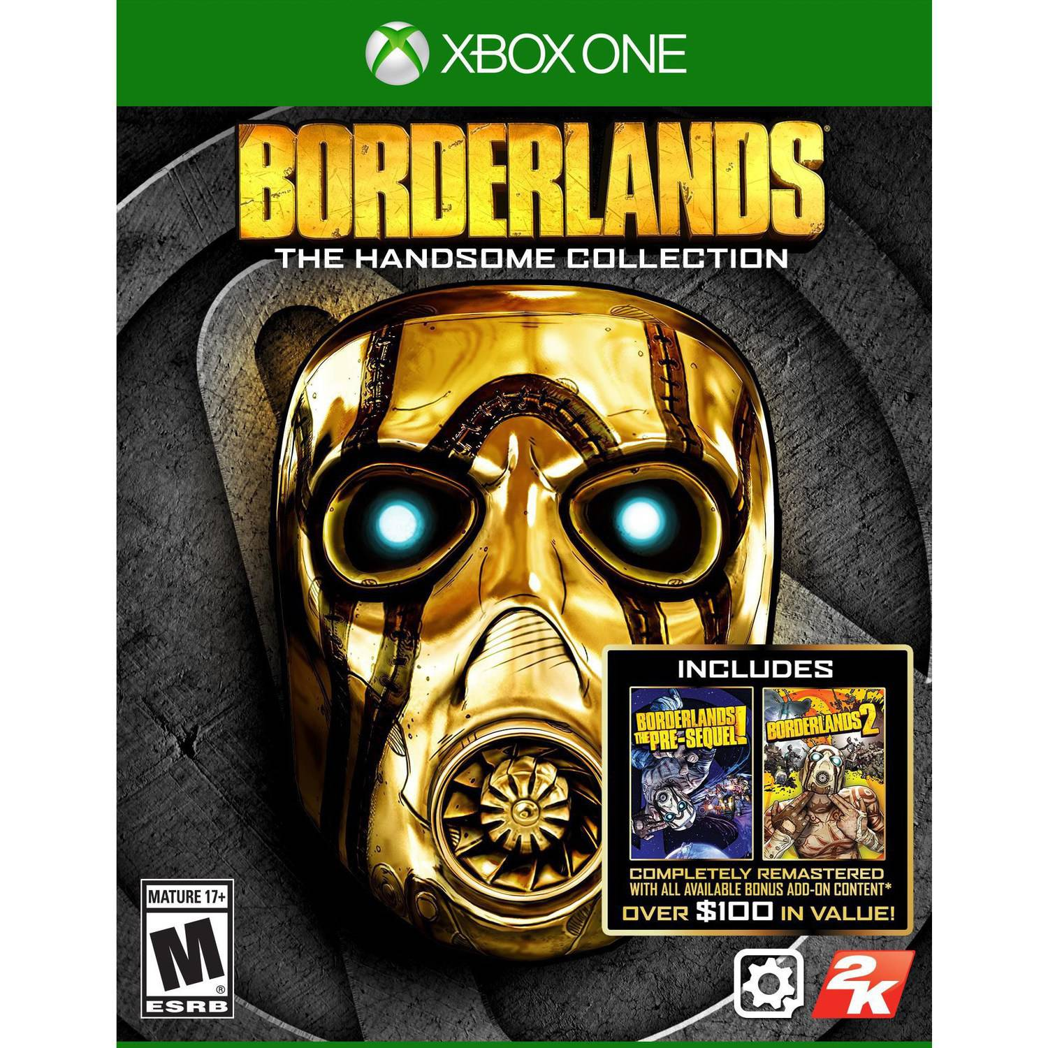 Borderlands: The Handsome Collection (Pre-Owned), 2K, Xbox One, 886162546804