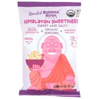 Lesserevil Buddha Bowl Himalayan Sweetness Sweet And Salty Organic Popcorn, 7 Oz, Pack Of 12
