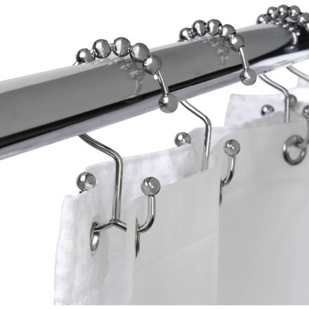 Maytex Mills Metal Double Glide Shower Hook Chrome