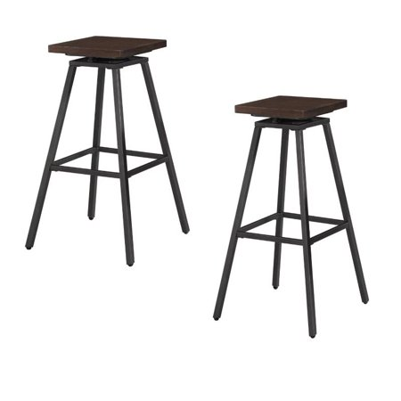 Set of 2 Clifton Backless Bar Stool ()