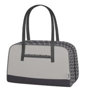 Thermos Raya Premium 9-Can Duffle Lunch Bag, Gray Shimmer [Kitchen]