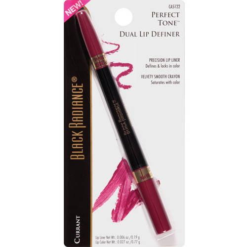 Black Radiance Perfect Tone Dual Lip Definer, CA5122 Currant, 0.006 oz