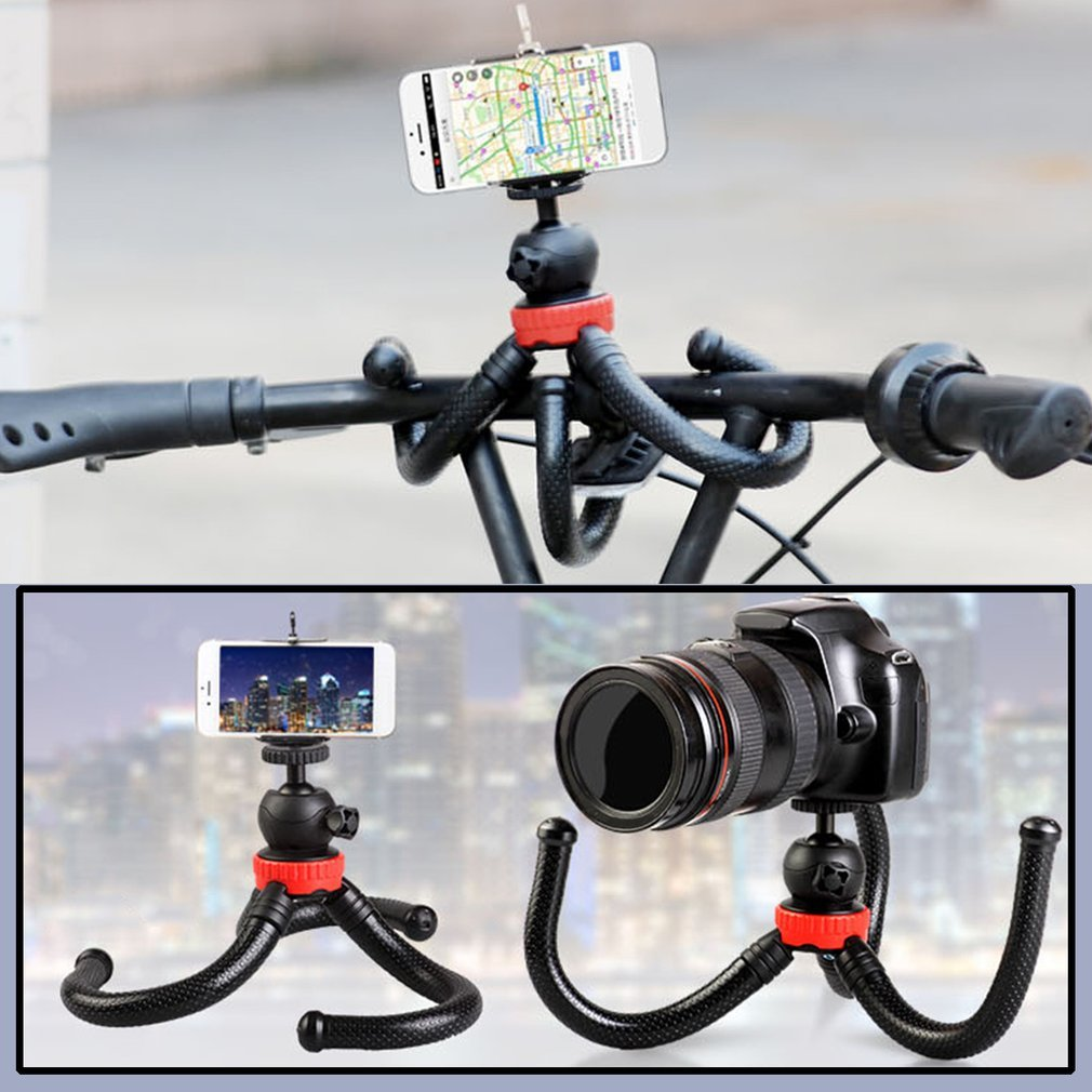 Waterproof Octopus Tripod Portable 360 Degree Flexible Stand Holder Mount