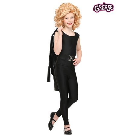 Child Grease Bad Sandy Costume](Kids Greaser Costume)