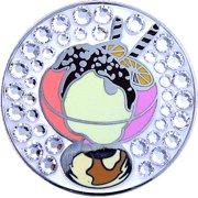 Bella Crystal Golf Ball Marker & Hat Clip - Ice Cream Sundae