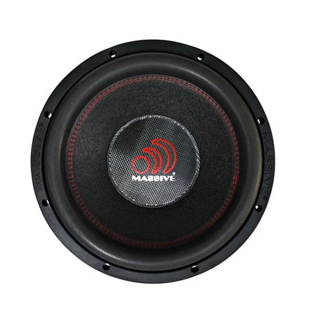 """Massive Audio HIPPO XL122 4000 W Max 12"""" Dual 2 Ohm Stereo Car Audio Subwoofer by"""