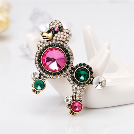Charming Vintage Pin Brooch Pins Exquisite Collar For Women Dance AL355-A - image 8 de 8