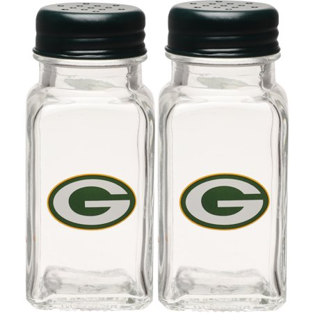 Green Bay Packers Glass Salt & Pepper Shakers - No Size](Glass Monkey Green Bay)