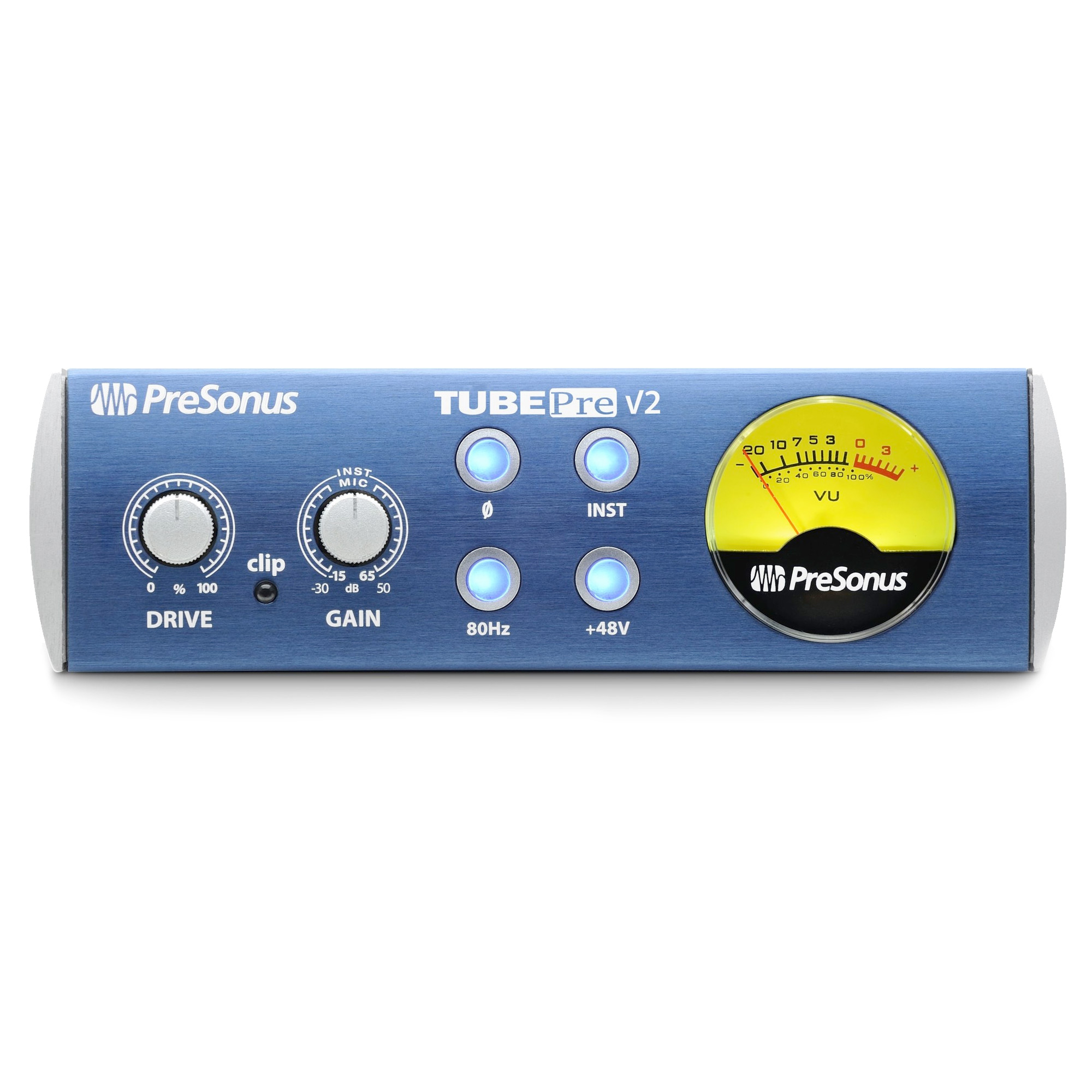 PreSonus TubePre V2 Single-Channel Tube Preamplifier and ...