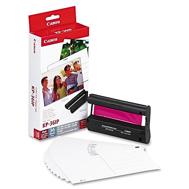 "Canon (KP-36IP) Color Ink Cartridge (Includes 36 Sheets of 4"" x 6"" Glossy Photo Paper) 7737A001"