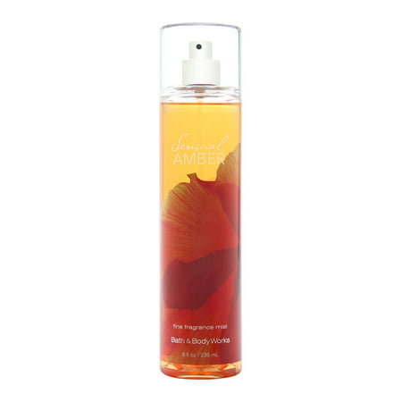 Bath & Body Works Sensual Amber 8.0 oz Fine Fragrance