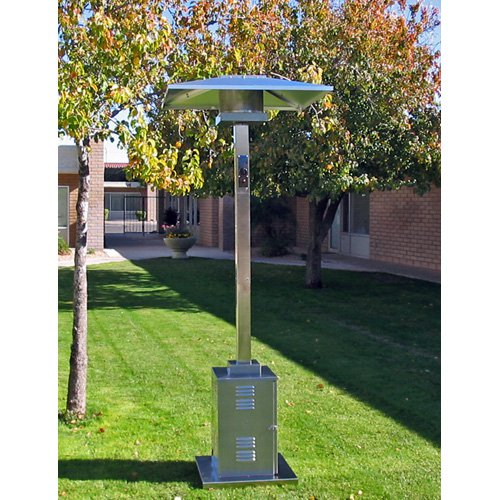AZ Patio Heater Tall Commercial 202 Stainless Steel Patio Heater by PrimeGlo