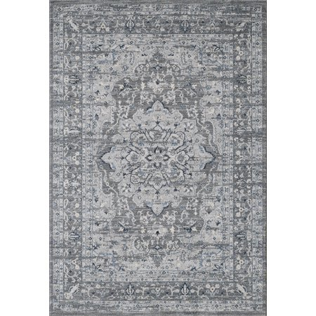 Abani Medallion Design Vintage Large Area Rug 8x10 5x7