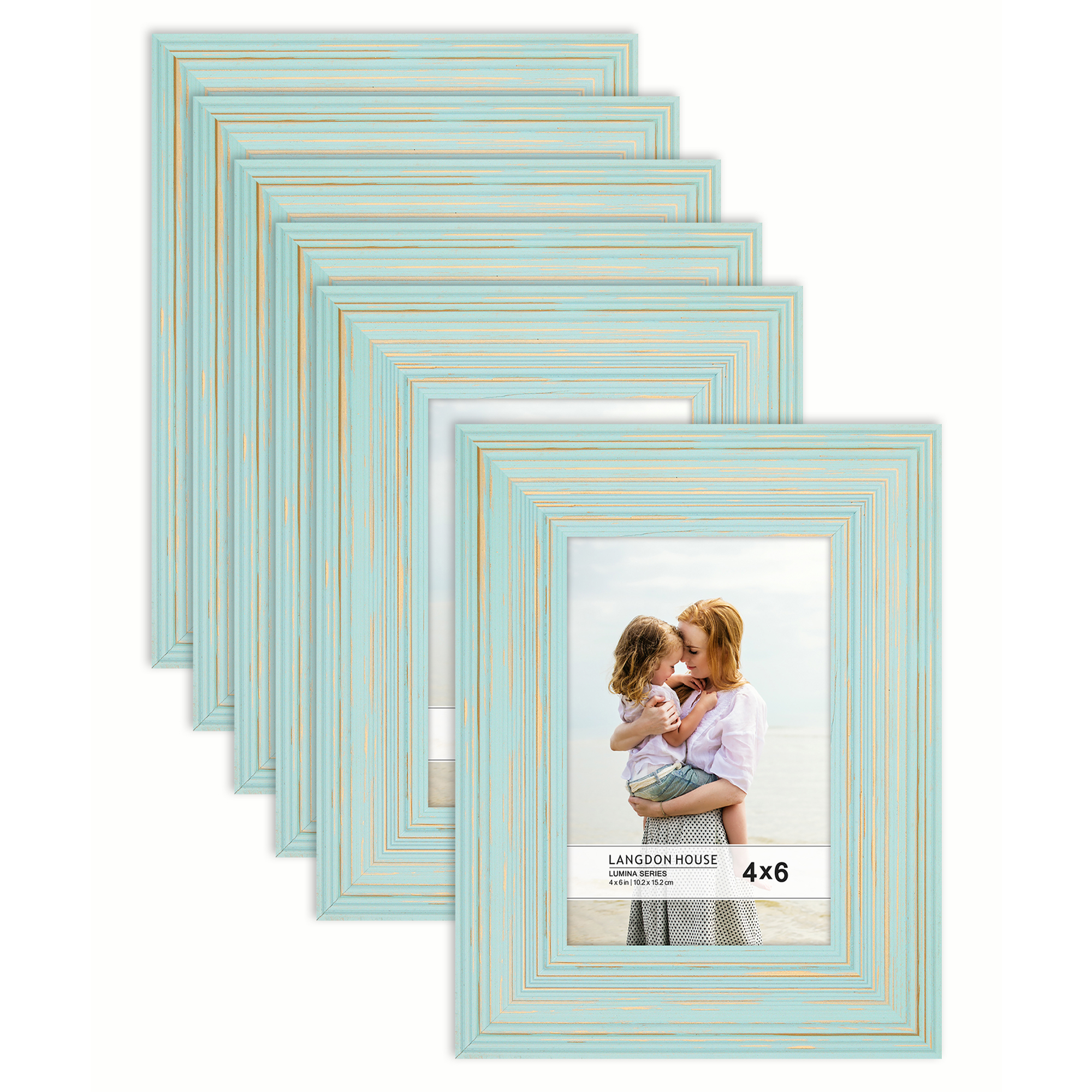 Accent Plus Turquoise Treasure Photo Frame