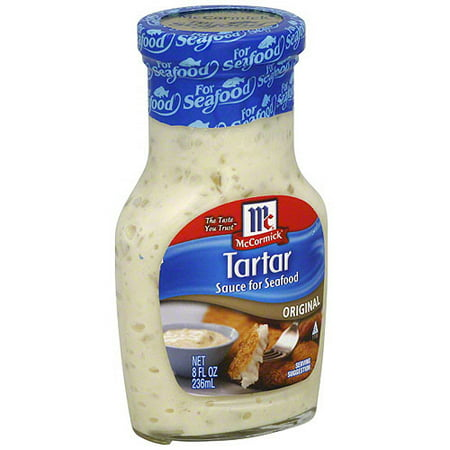 Golden Dipt Original Tartar Sauce, 8 oz (Pack of