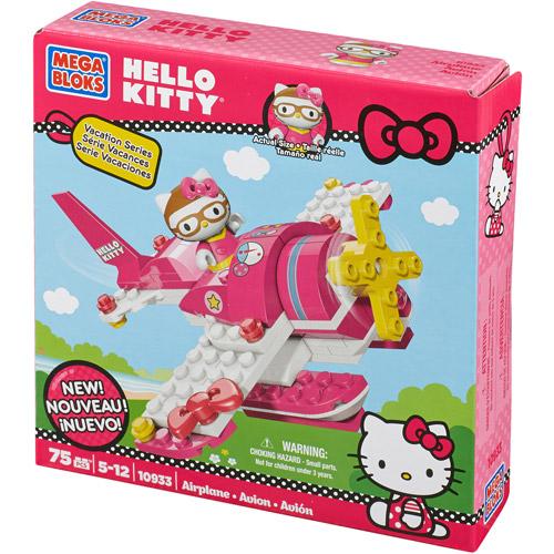 Mega Bloks Hello Kitty Airplane Play Set