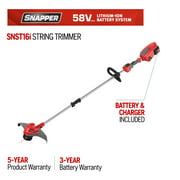 Best String Trimmers - Snapper 16 in. 58-Volt Lithium-Ion Battery Straight Shaft Review