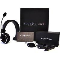 0da1a9bddce Product Image Blue Tiger 17-130388 Elite Premium Bluetooth Headset, Black