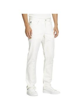DKNY Men/'s pocket Mid Rise Slim Straight Brushed Twill Pant