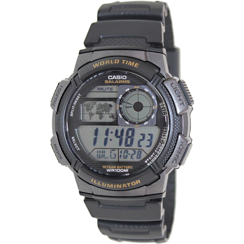 Casio Men's Digital Sport Watch, Black