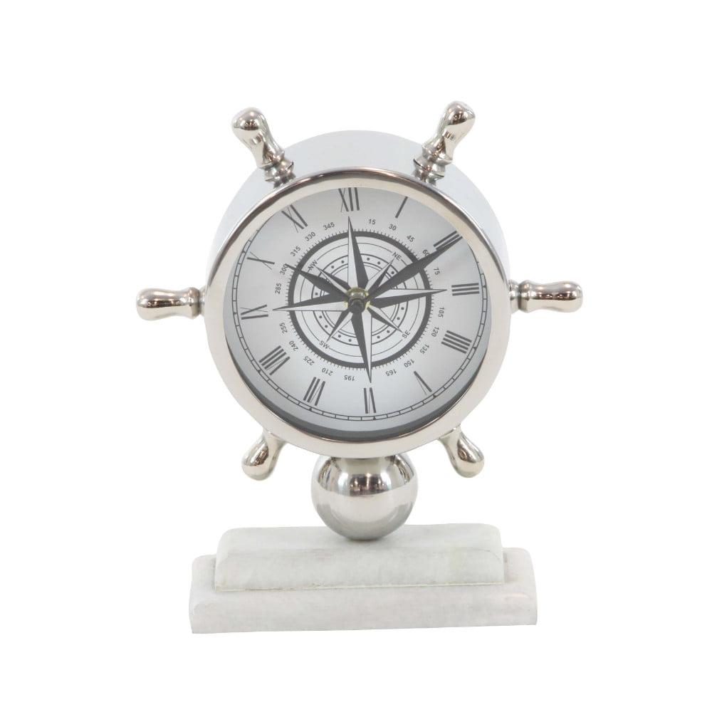 Uniquely Designed Table Clock by Benzara