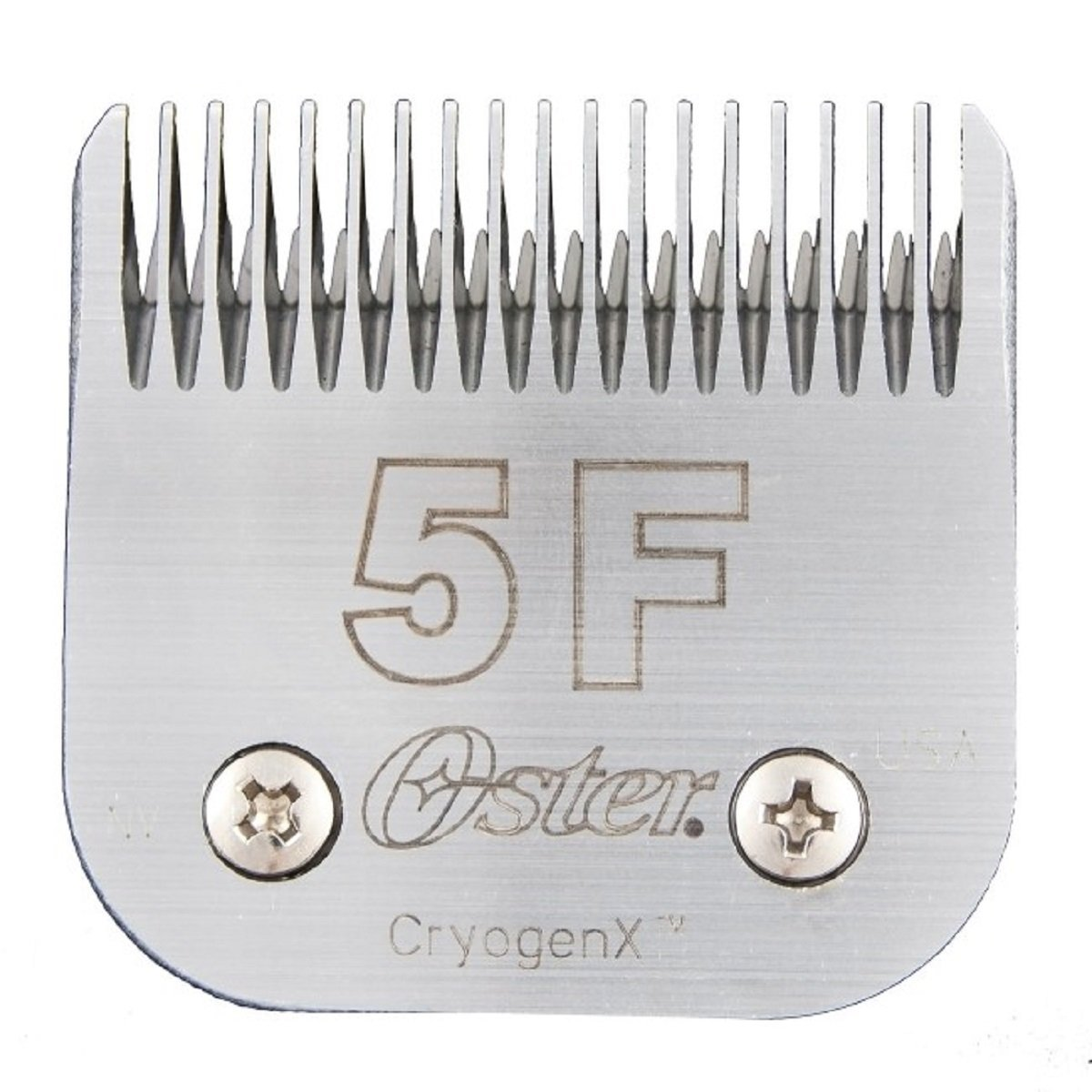 Elite CryogenX Professional Animal Clipper Blade, Size # 5F, They're smoother, cleaner, faster