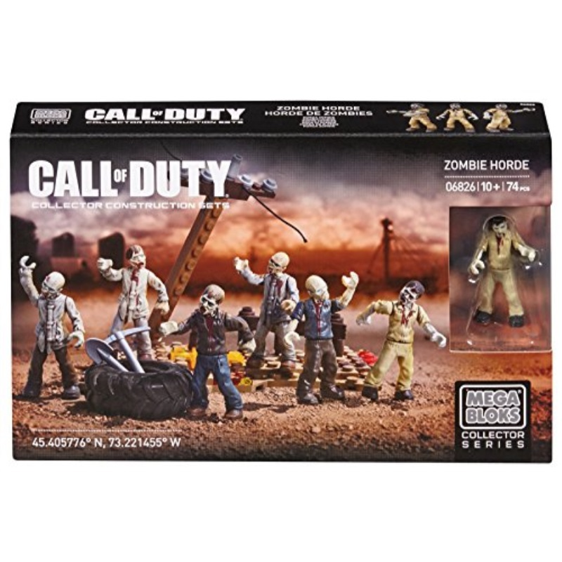 Mega Bloks Call of Duty Zombies Horde by