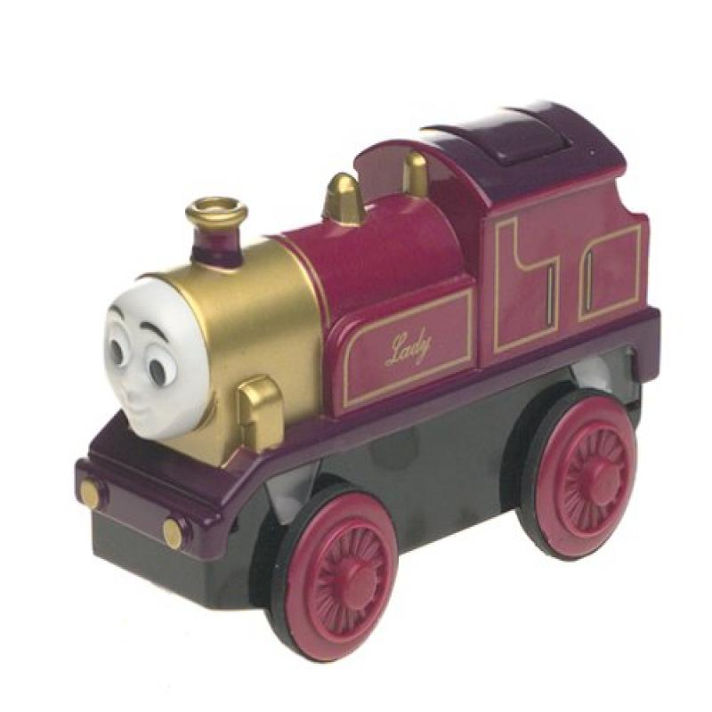 Learning Curve Thomas and Friends Wooden Railway Battery Powered Lady by