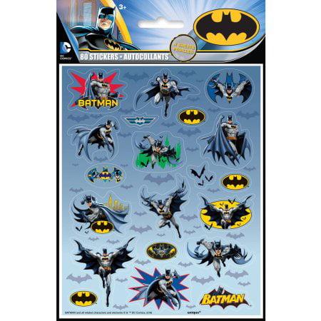 (6 Pack) Batman Sticker Sheets, 4ct
