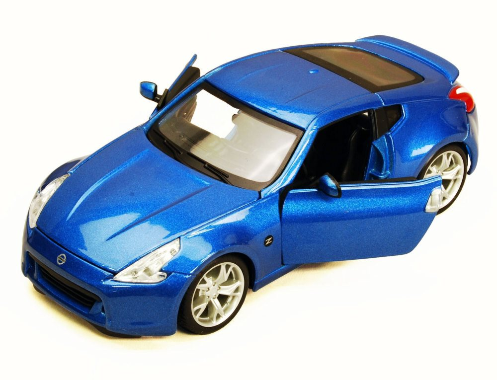 2009 Nissan 370Z, Blue Maisto 34200 1 24 Scale Diecast Model Toy Car (Brand but NOT IN... by Maisto