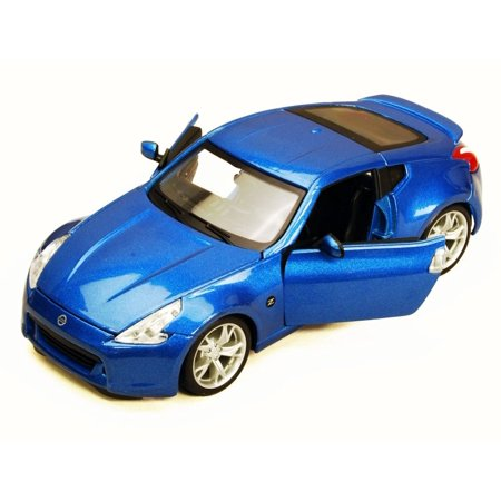2009 Nissan 370Z, Blue - Maisto 34200 - 1/24 Scale Diecast Model Toy Car (Brand New, but NOT IN