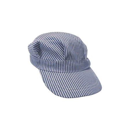 Conductor Hats For Kids (Train Engineer Hat Conductor Blue White Costume Cap Engineer'S Child Boys)
