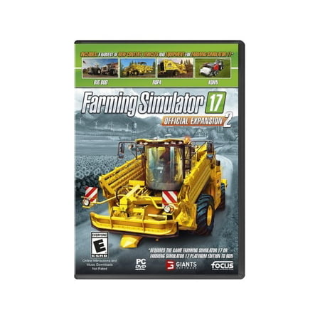 Farming Simulator 17 Expansion 2, Maximum Games, PC Software, (Hot Games Software)