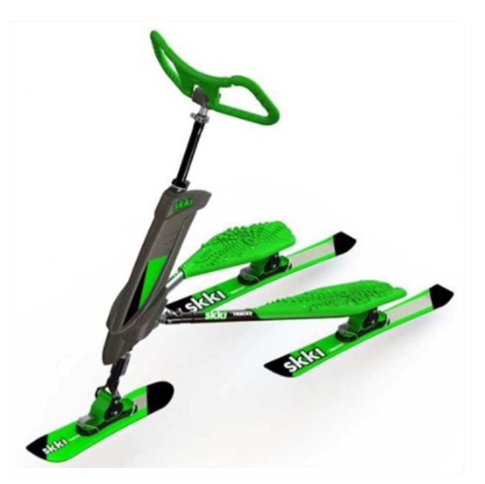 Trikke Tech Skki Carving Scooter Green with Black Accents