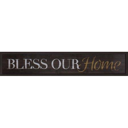 Bless Our Home, Over the Door Wall Art - Walmart.com