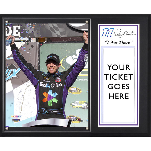 Mounted Memories NASCAR Denny Hamlin 2012 Subway Fresh Fit 500 Winner 'I WAS THERE' Framed Memorabilia