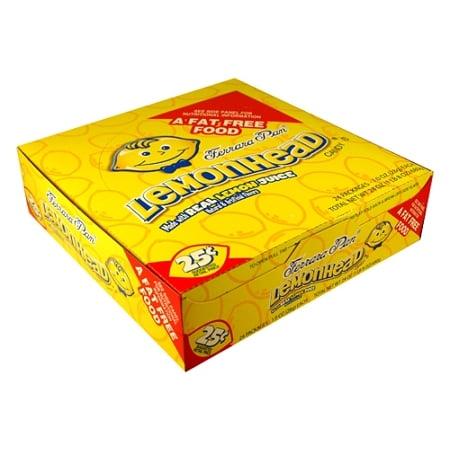 Ferrara Pan Lemonhead Candy, (Pack of 24)