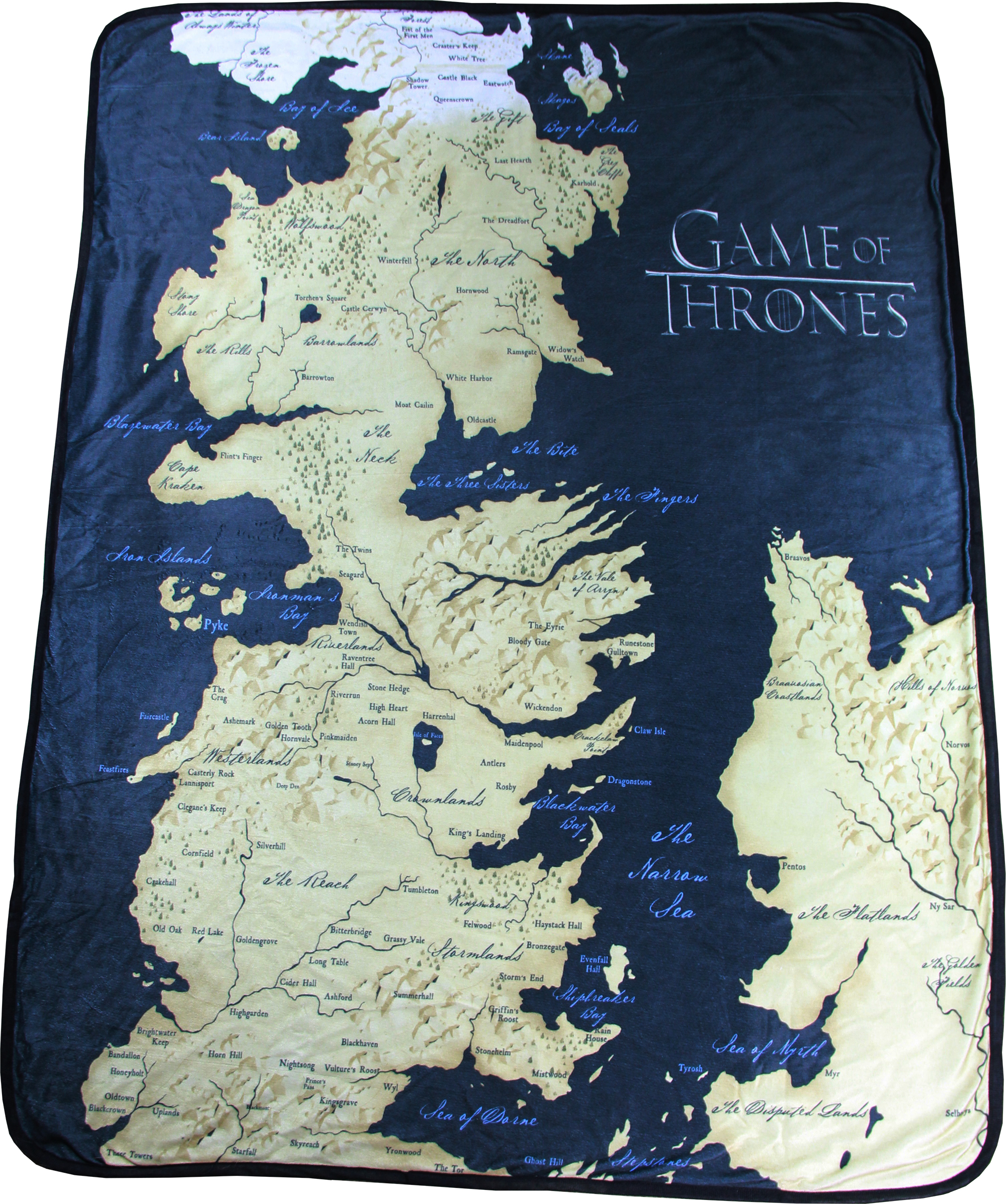 Game of Thrones Map 46