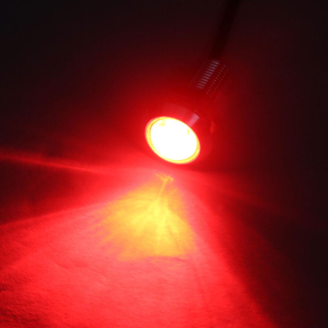 2 Pcs Red COB Eagle Eye Lamp Fog Daytime Running Reversing Sidelight Light - image 1 of 2