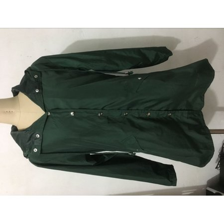 Long A-type casual raincoat Waterproof Hooded Lightweight Rain Jacket - image 1 of 4