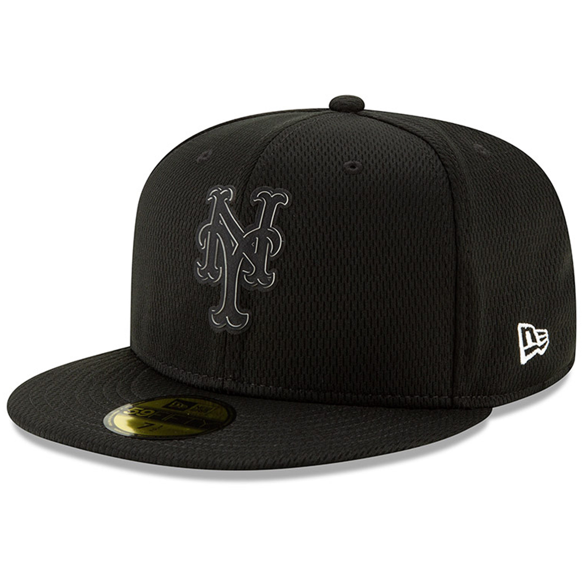 New York Mets New Era Clubhouse Collection 59FIFTY Fitted Hat - Black