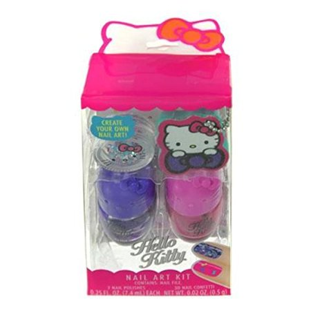 SANRIO Hello Kitty Nail Polish Set for Kids Cosmetics - Hello Kitty Halloween Nail Designs