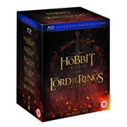 The Lord Of The Rings Trilogy and The Hobbit Trilogy: 6-Film Extended Edition Collection (Region Free Blu-ray)