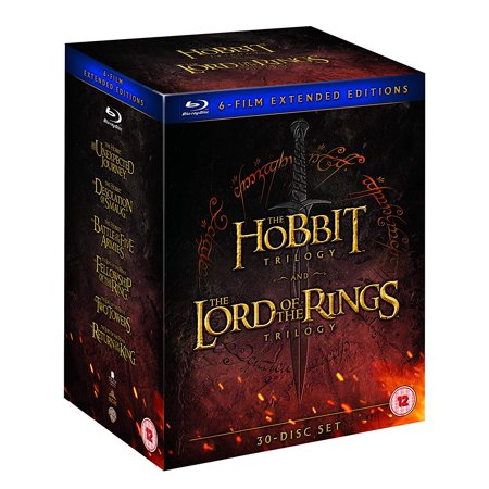 The Lord Of The Rings Trilogy and The Hobbit Trilogy: 6-Film Extended Edition Collection (Lord Of The Rings Theatrical Vs Extended)
