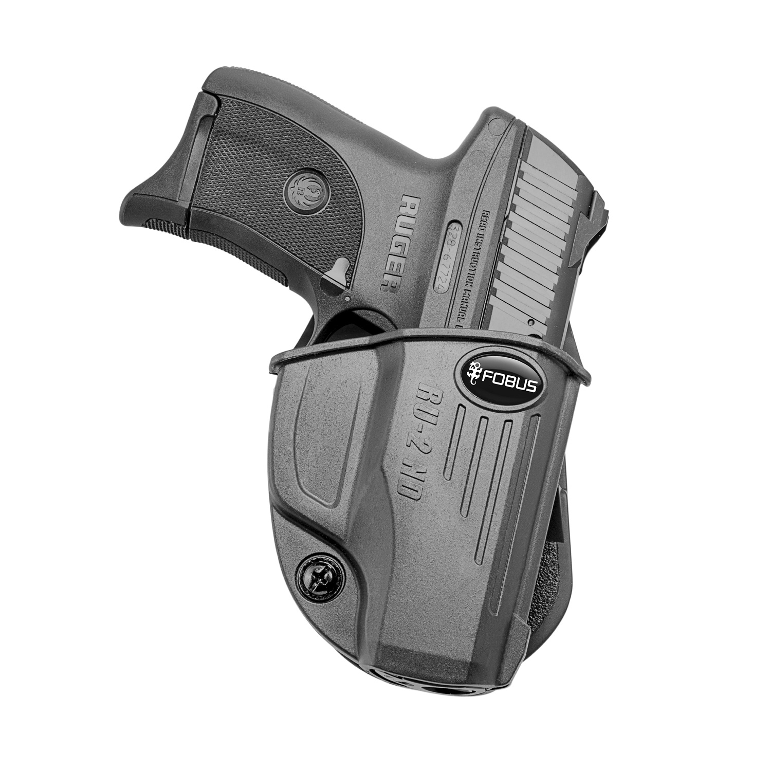 Fobus Evolution Paddle Holster-Ruger EC9s LC380 LC9 LC9s Pro by Fobus Holsters