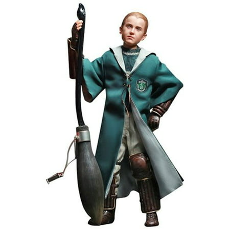 Harry Potter Chamber Of Secrets Quidditch Draco Malfoy 1:6 Scale Action Figure](Draco Malfoy Wand)