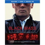 Black Mass (Blu-ray + DVD) by